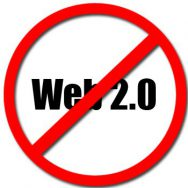 Web 2.0 doesn't exist.