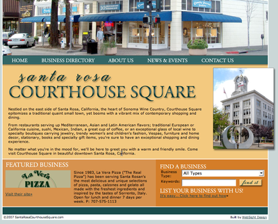 7 Easy SEO Tips, and Faster Pageloads: Santa Rosa Courthouse Square, Reviewed - Portent
