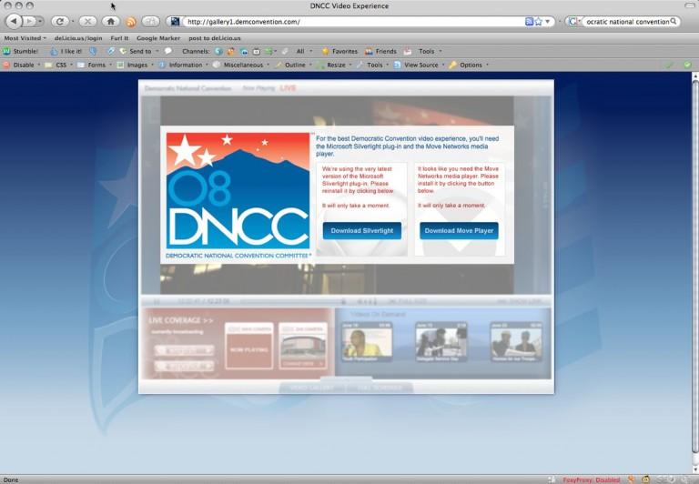The Democrats Lose: Comparing the Convention Web Sites - Portent