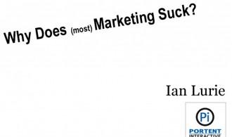 most marketing sucks