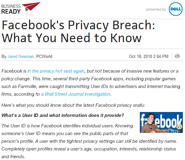 Stupid, or evil? Facebook manages both with new privacy