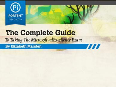 MSN adCenter Exam