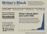 writers block - an infographic