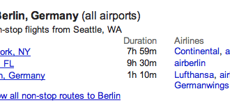 berlin flights