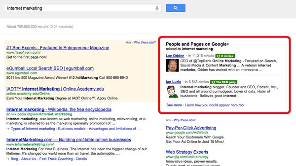 Google Plus Box