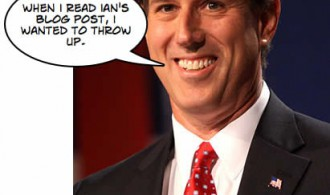 Rick Santorum did not approve this blog post