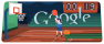 Olympic basketball Google Doodle