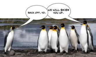 when penguins go bad