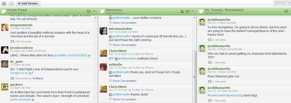 How to use hootsuite and twitter lists to engage your for Portent usage examples