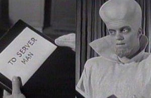 "Twilight Zone ""To Serve Man"""