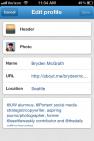 Mobile Twitter Header