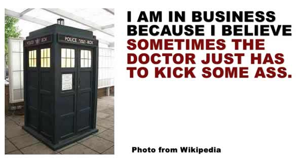 Doctor Who's Why