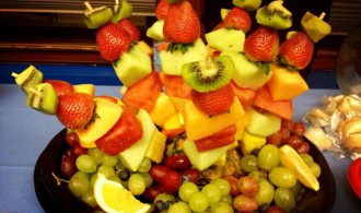 content meetup fruit plate