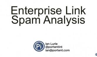 enterprise link spam analysis