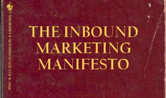 Cover of The Inbound Marketing Manifesto