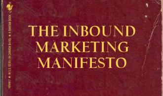 Cover of The Inbound Marketing Manifesto