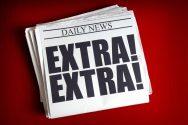 Extra Extra Newspaper