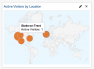 Active visitors by location screencap