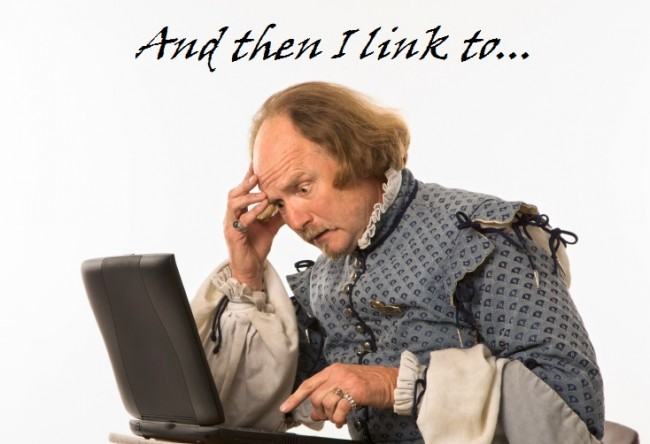 Shakespeare tries to figure out Google Plus