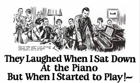 John Caples Famous Piano Ad