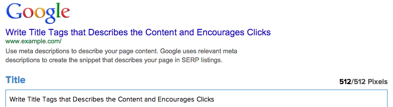 Announcing our serp preview tool portent for Portent serp
