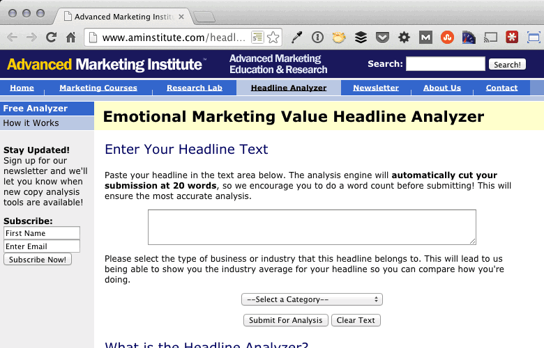 43 tools for modern marketers portent for Portent headlines