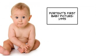 Portent's baby picture
