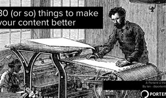 30 Useful Tips for Content