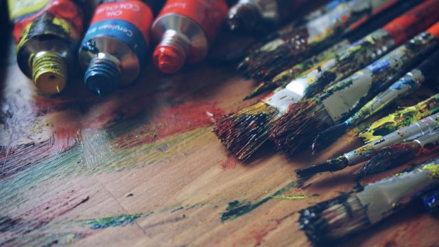 Design-Banners Paint Brushes