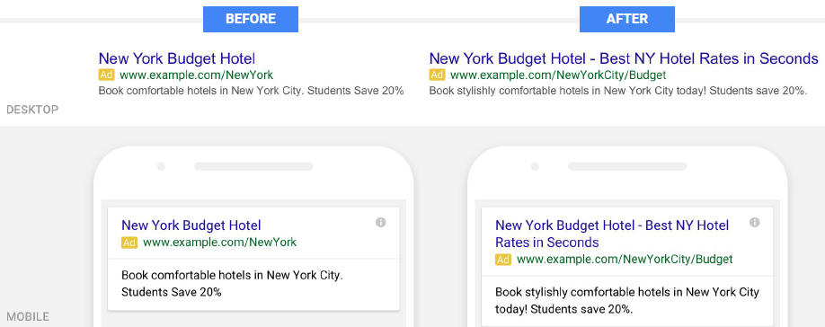 Expanded Text Ads for Mobile PPC - Portent