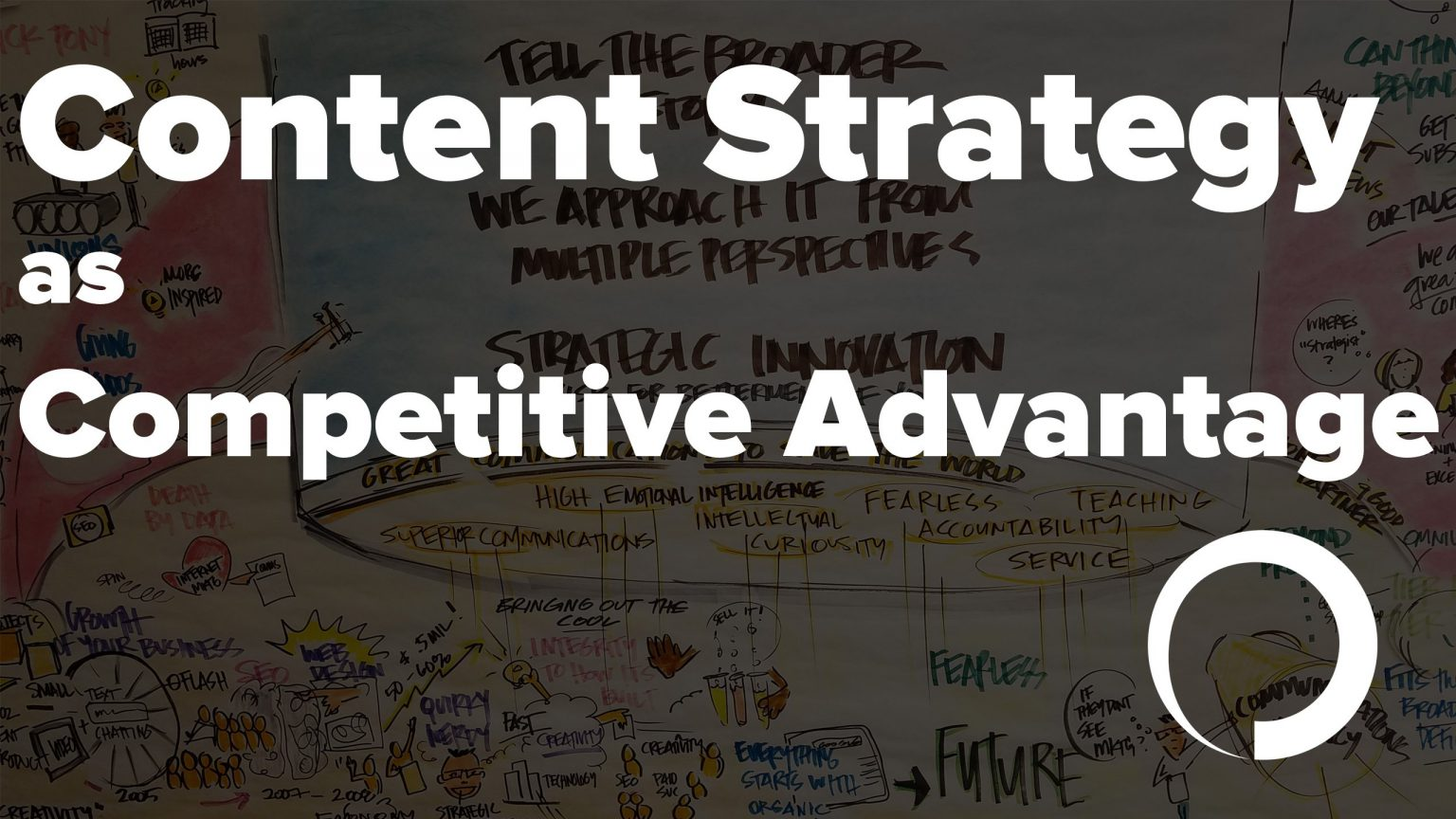 Content Strategy as Competitive Advantage