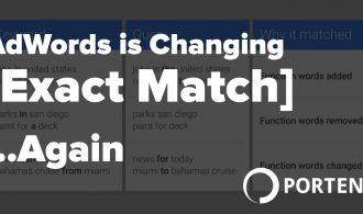 AdWords is Changing Exact Match Again Portent