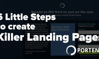 How to create high-converting landing pages - Portent