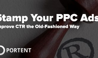 Copyright stamp your PPC ads to improve CTR