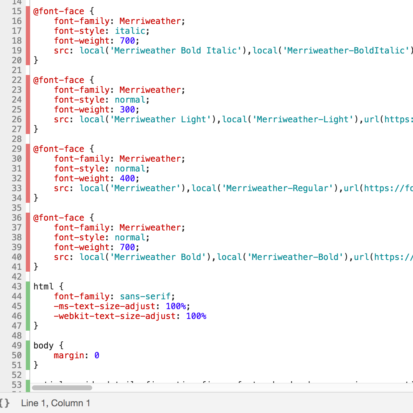 Nice! Dead code highlighted!