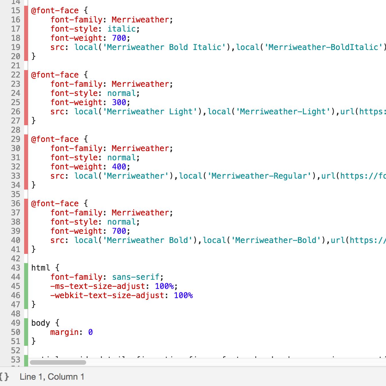 Nice! Dead code highlighted!