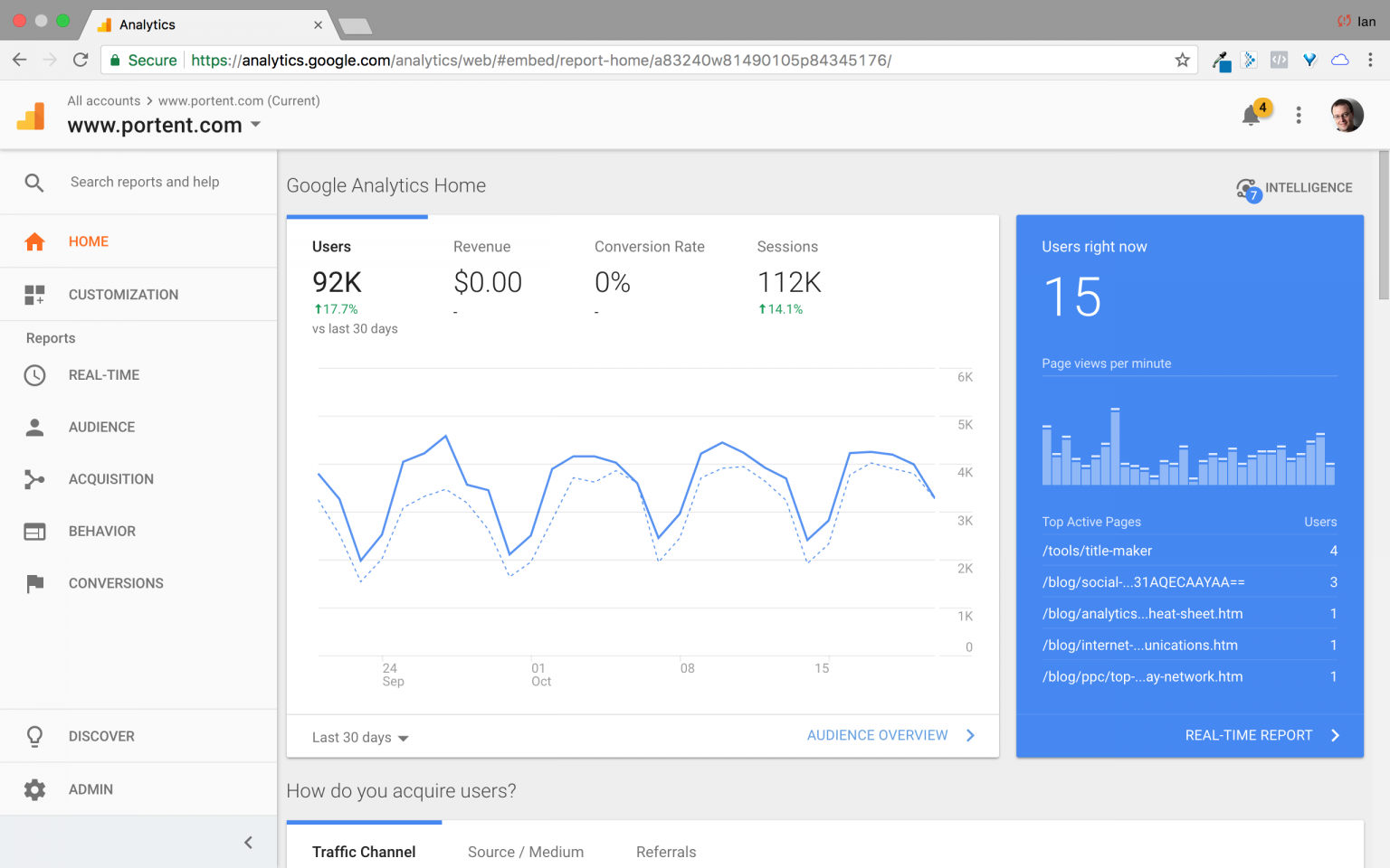 How to navigate Google Analytics changing interface