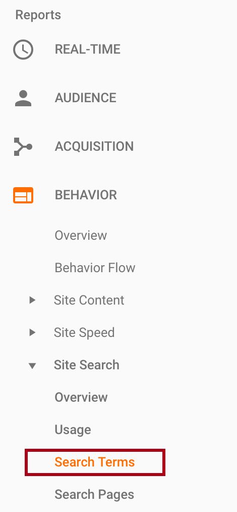 Analyze your Site Search Report in Google Analytics for content and UX insights