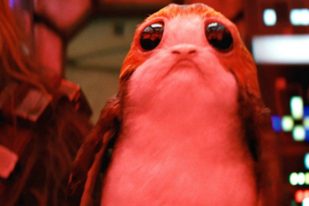 The whole internet loves Porgs from the new Last Jedi movie