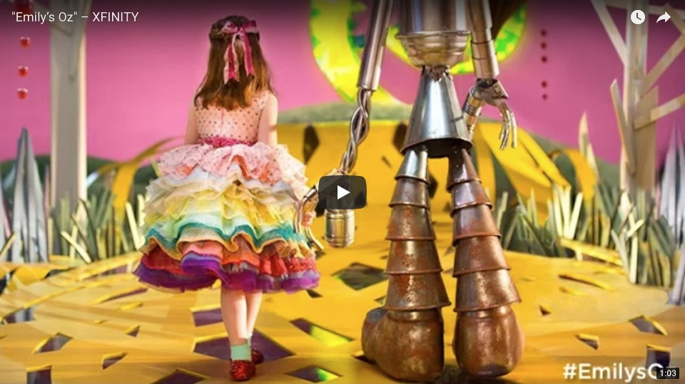 Video example of storytelling through brand content