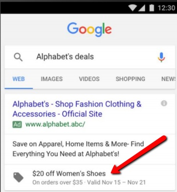 Use Promotion Extensions to optimize mobile AdWords results