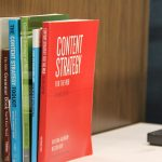 Content strategy books at Portent a digital marketing agency in Seattle