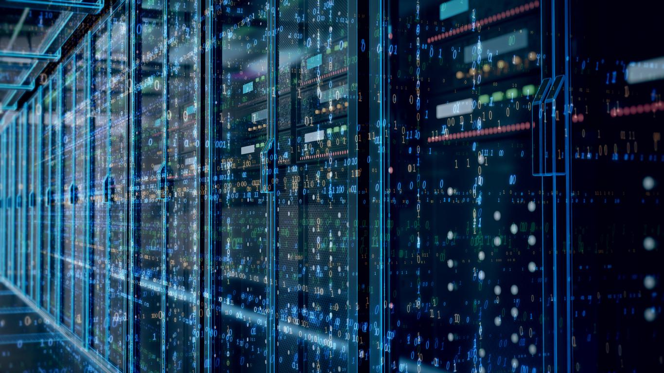 Linode digital marketing case study - Server room