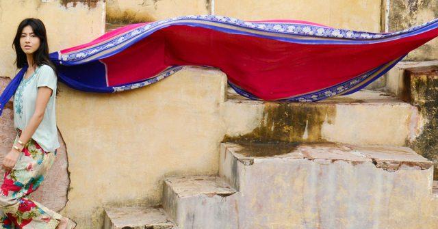 Sudara marketing case study - woman with beautiful scarf