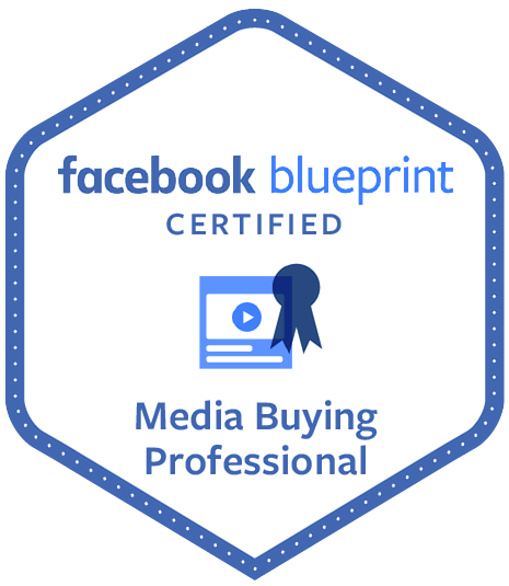 Facebook Certified Media Professional Logo