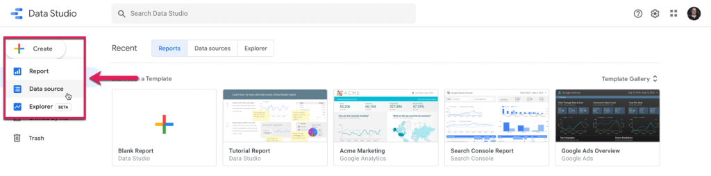 Keeping an Eye on the Competition With Google Data Studio