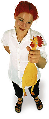 Archie McPhee Rubber Chicken